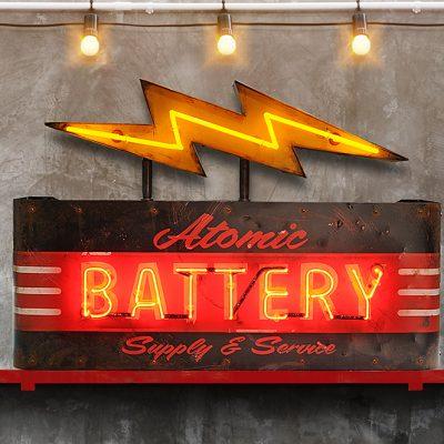 Atomic Battery